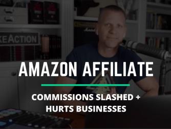 Amazon affiliate commissions slashed