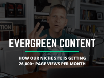 How to create evergreen content for your niche website