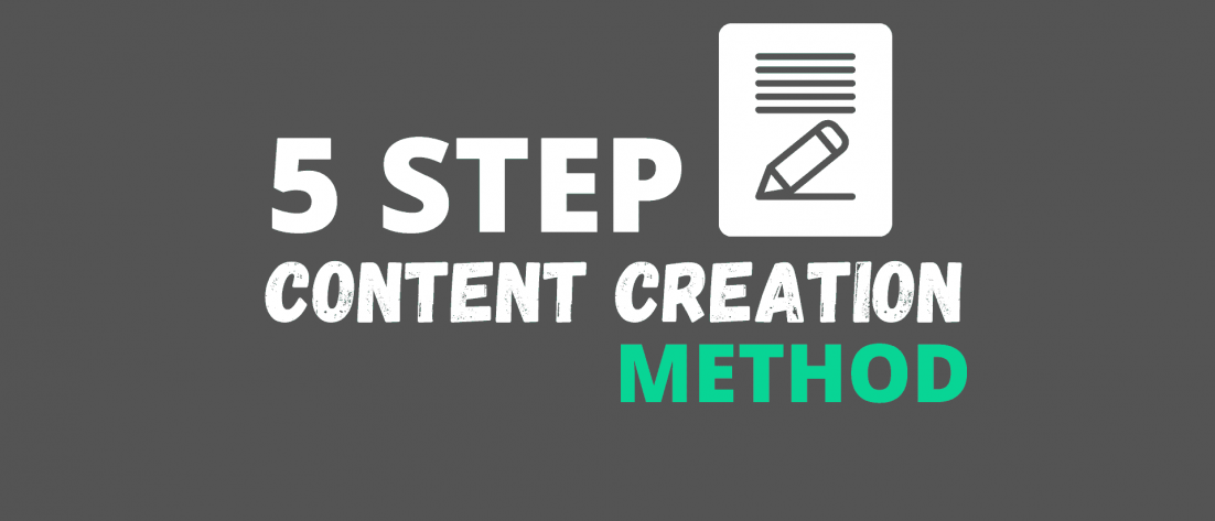 5 Step Content Creation