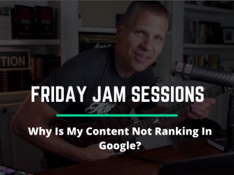 Why Is My Content Not Ranking In Google?