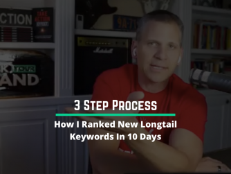 How I Ranked New Longtail Keywords In 10 days