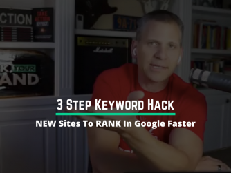 1050 • 3 Step Keyword HACK for NEW Sites to RANK In Google Faster