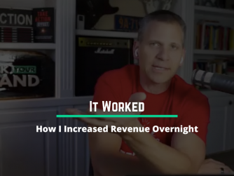 1056 • (It Worked) How I Increased Revenue Overnight